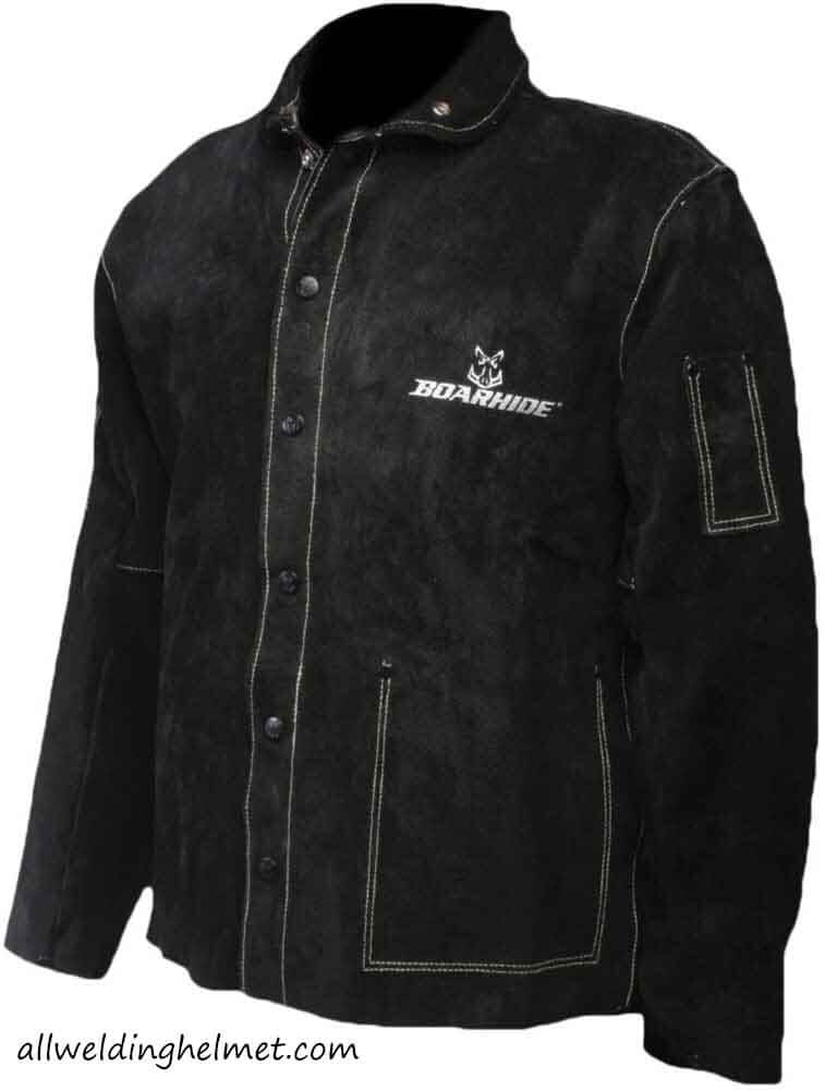 Caiman 3029-5 Boarhide Black Welding Jacket
