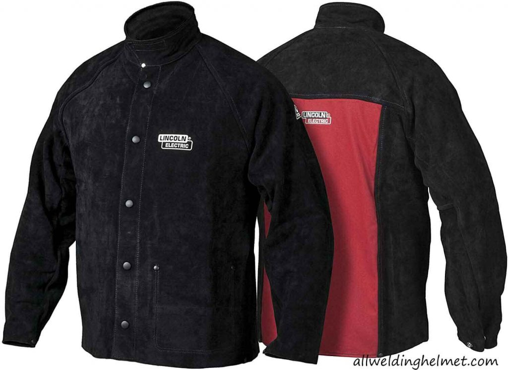 Lincoln Electric K2989 Leather Welding Jacket