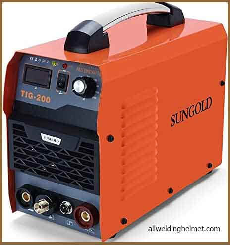 SUNGOLDPOWER 200 AMP TIG Welder